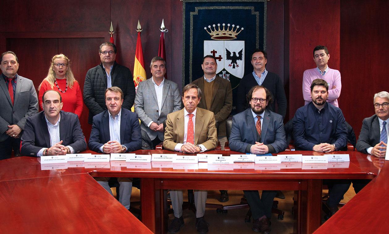 El Alcalde traslada a la Plataforma por la Movilidad en el norte de Madrid las necesidades de Tres Cantos