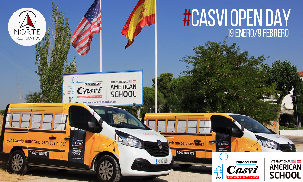 OPEN DAY – 9 de febrero   Casvi International American School