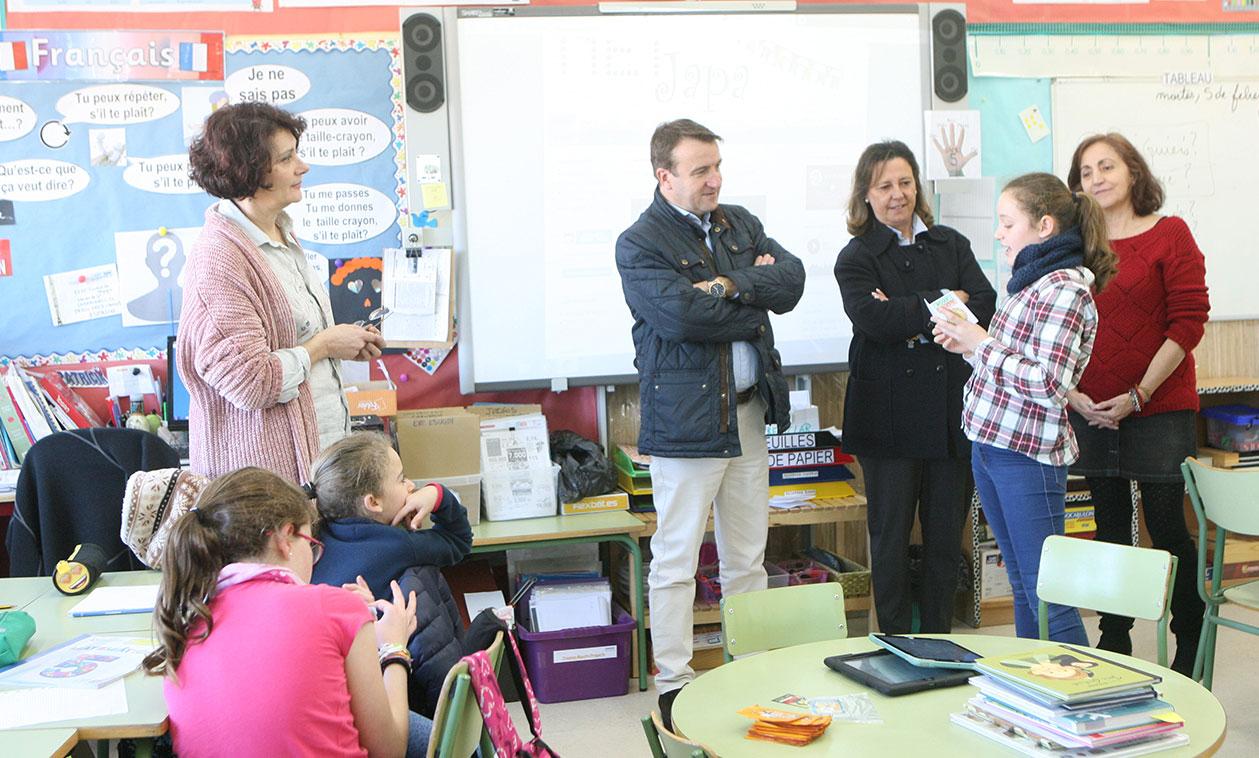 Los colegios Carmen Iglesias y Ciudad de Nejapa imparten con éxito el programa de educación trilingüe de la Comunidad de Madrid
