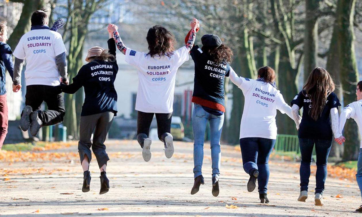 La Concejalía de Juventud informa sobre el nuevo programa de movilidad para jóvenes 'Cuerpo Europeo de Solidaridad'
