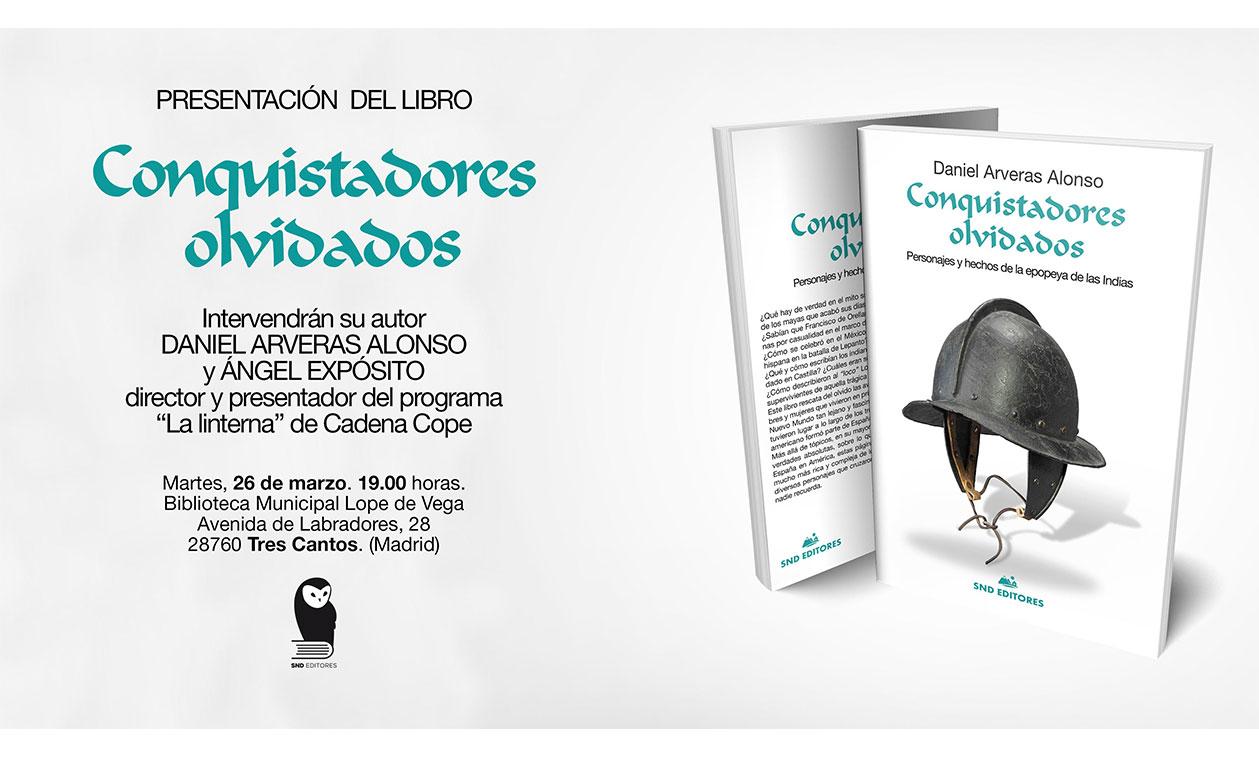 El periodista Daniel Arveras presenta su segundo libro
