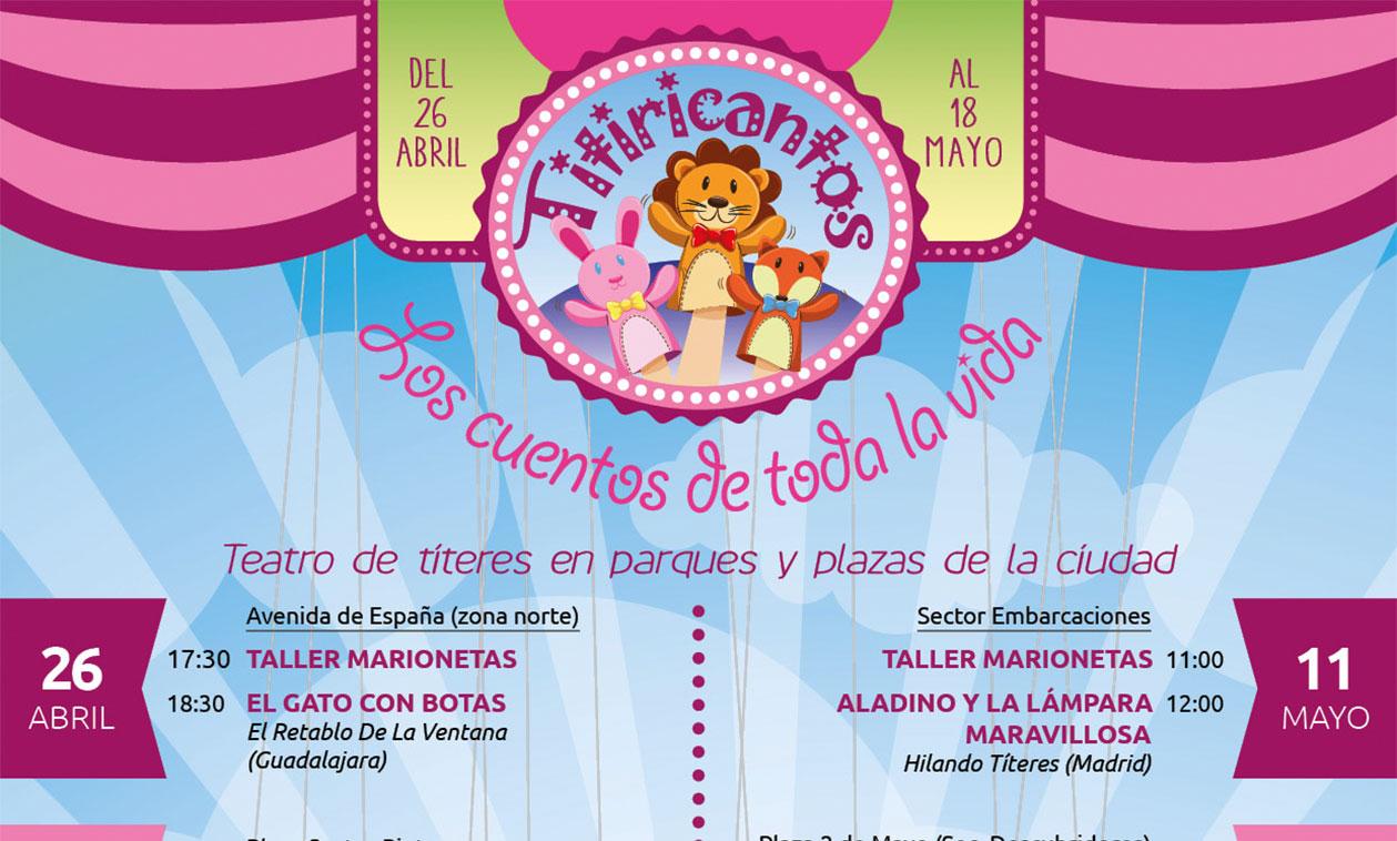 """""""Titiricantos"""", teatro de títeres para las familias"""
