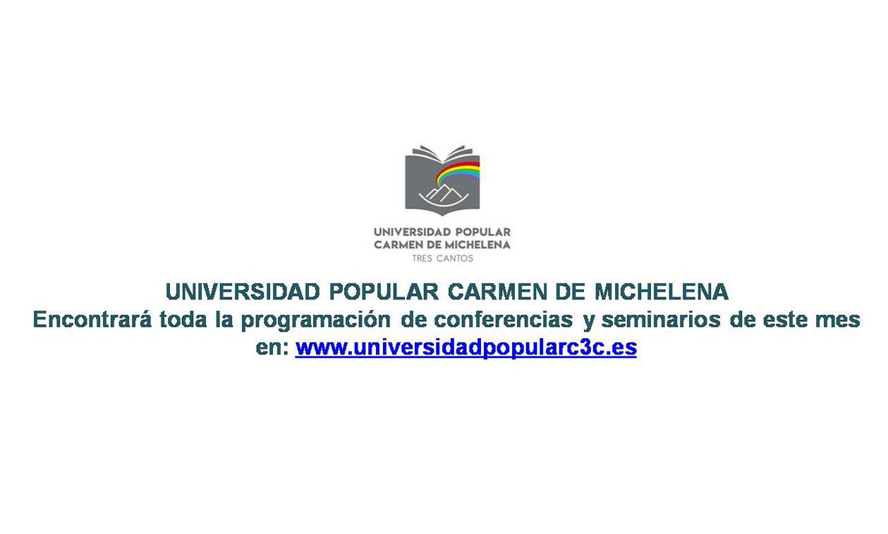Eventos Universidad Popular Carmen de Michelena