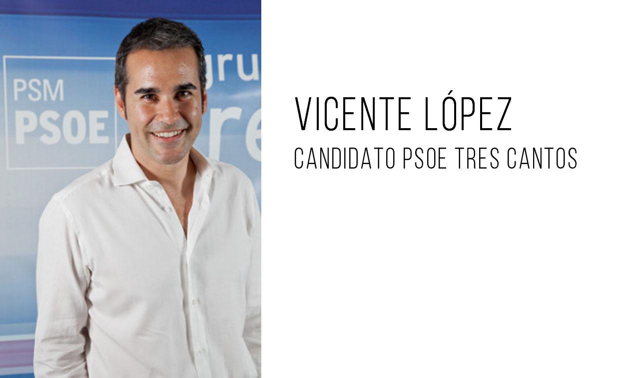 El PSOE elige a Vicente López como candidato