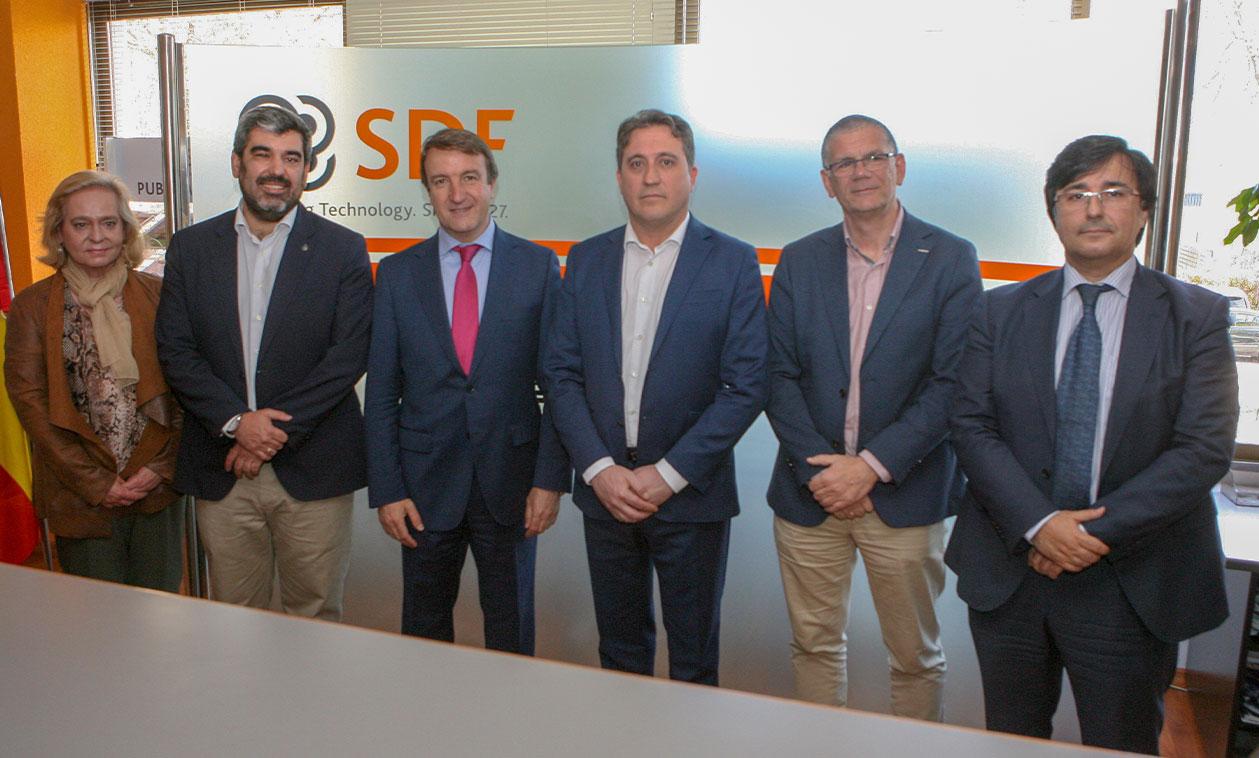 Una visita por las instalaciones de  SDF Ibérica