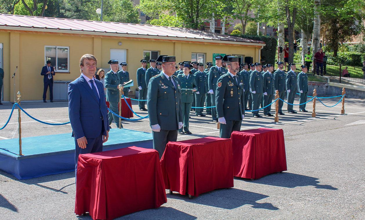 La Comandancia de la Guardia Civil de Madrid celebra el 175 aniversario de su fundación