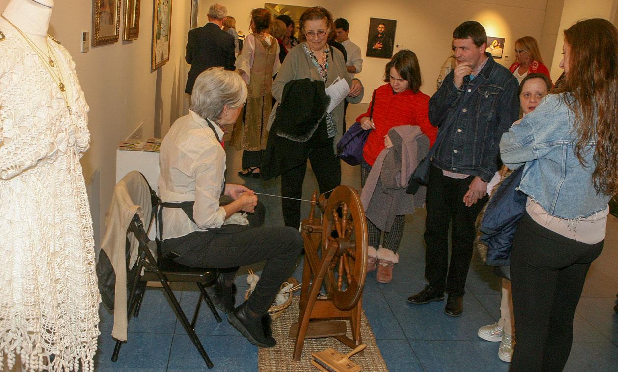 La Sala Baluarte cierra las puertas de la exposición 'Copistas del Prado'