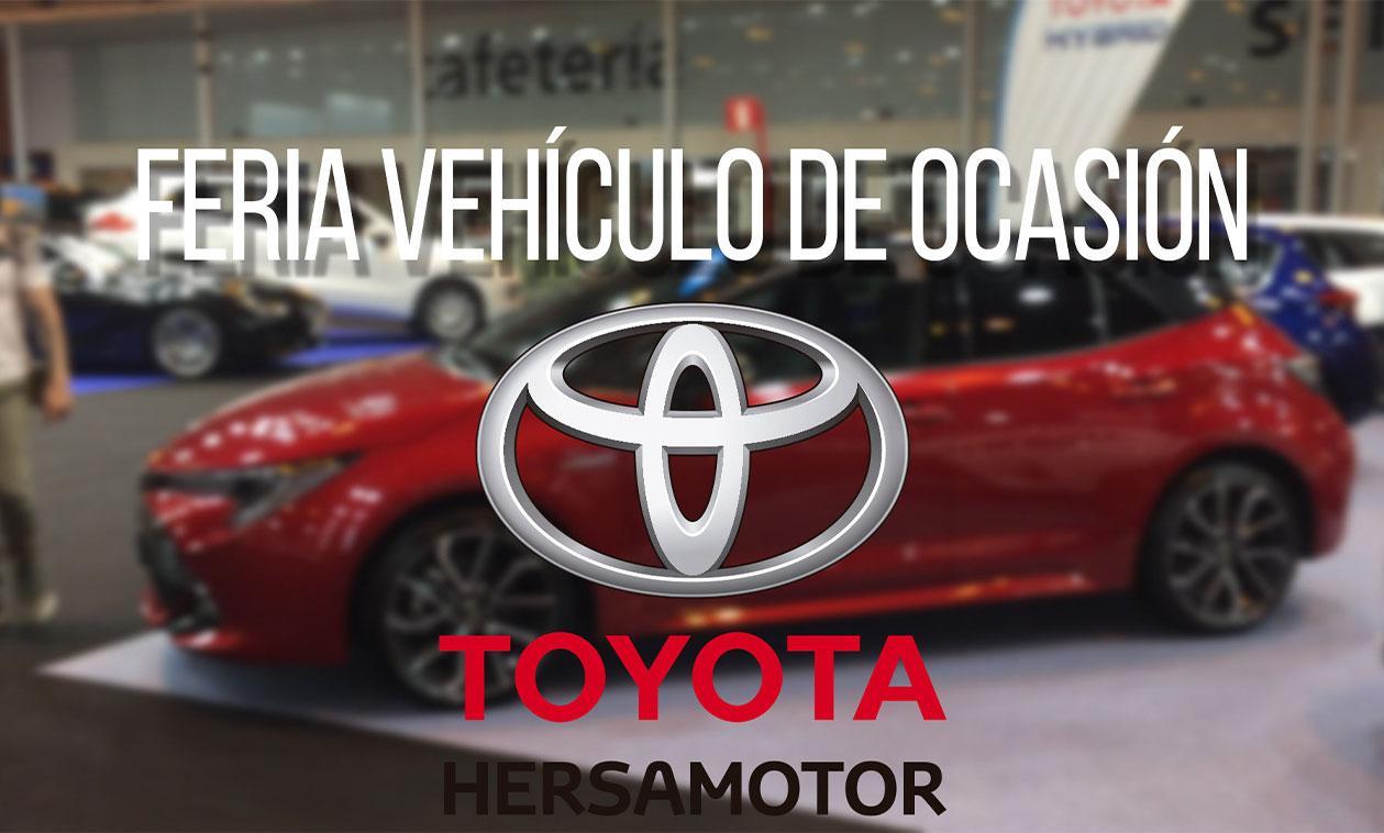 Toyota Hersamotor te espera en el Salón del Vehículo de Ocasión y Seminuevo de IFEMA