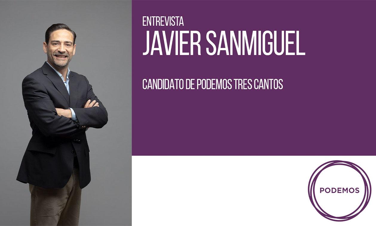 VÍDEO | Entrevista Javier Sanmiguel, candidato de Podemos Tres Cantos
