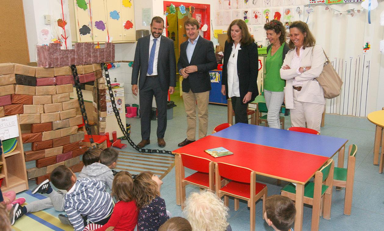 Los colegios públicos Aldebarán y Miguel de Cervantes contarán con dos nuevas aulas de infantil