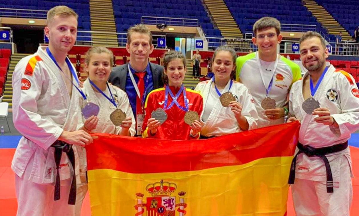 El club Katán de Tres Cantos triunfa en el europeo de jiu-jitsu