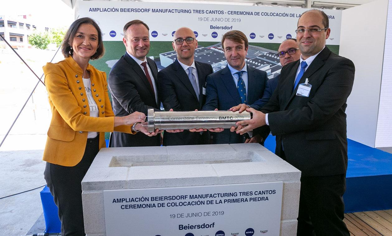 Beiersdorf invertirá 55 millones en la ampliación de su planta de Tres Cantos