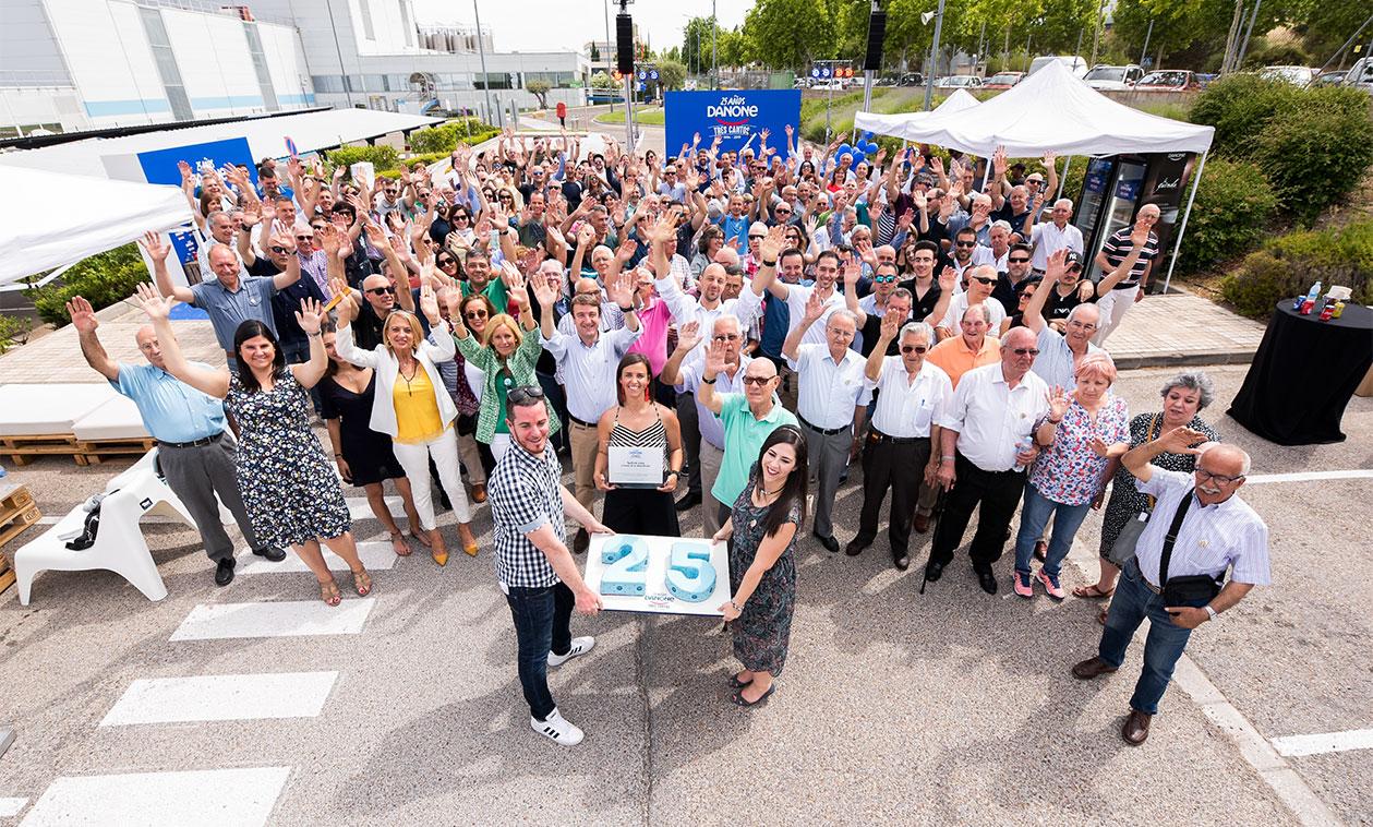 La planta de Danone en Tres Cantos celebra su 25 aniversario