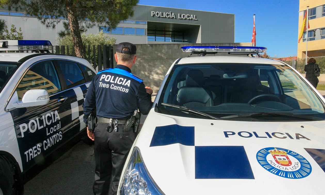 La delincuencia en Tres Cantos desciende un 5,9% en el primer trimestre de 2019