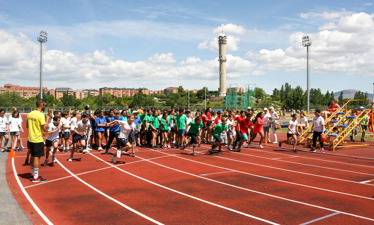 Más de 3.000 alumnos  participan en las Miniolimpiadas de Tres Cantos