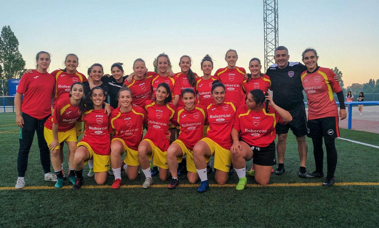 El equipo femenino UD Tres Cantos consigue el ascenso a Segunda División