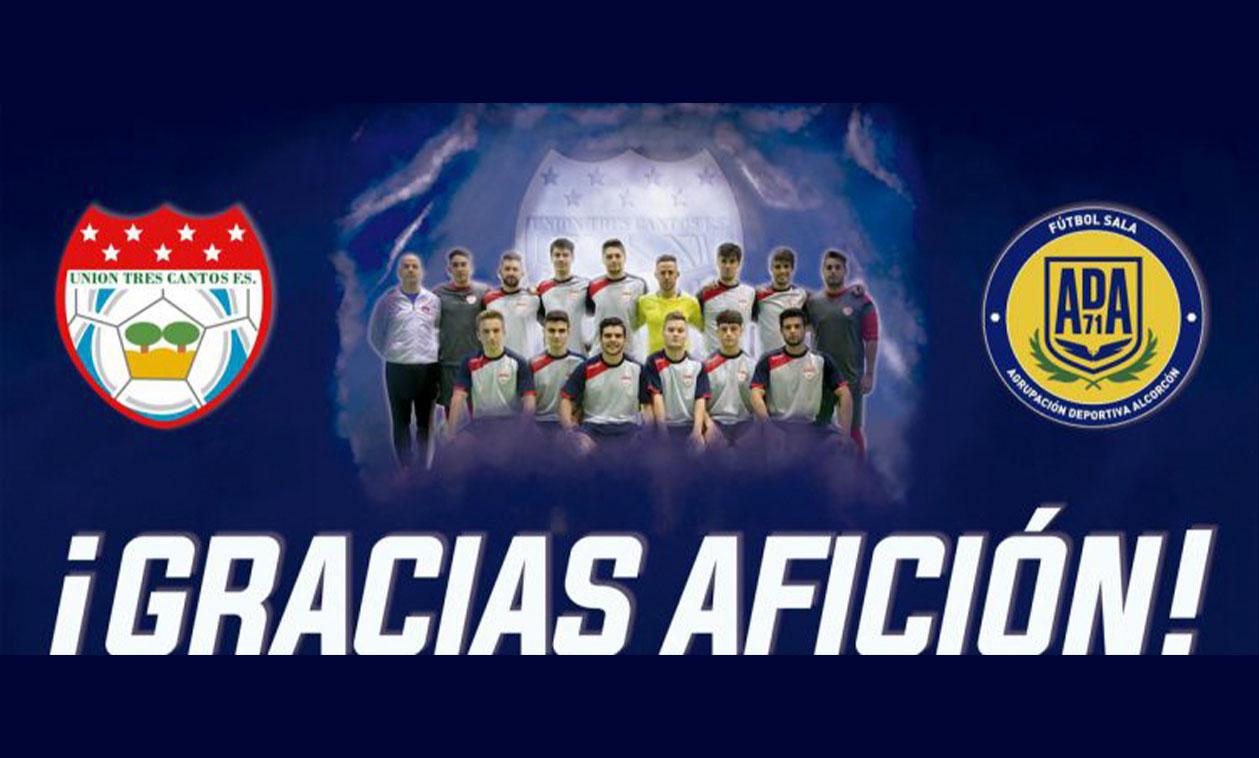 El equipo Unión Tres Cantos consigue el ascenso a Segunda B