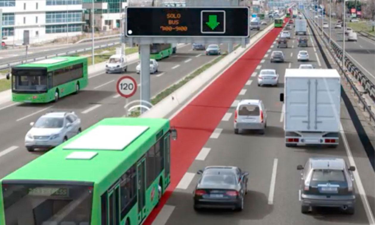 Ganemos solicita la habilitación inmediata de un Carril Bus-Vao provisional dirección Madrid