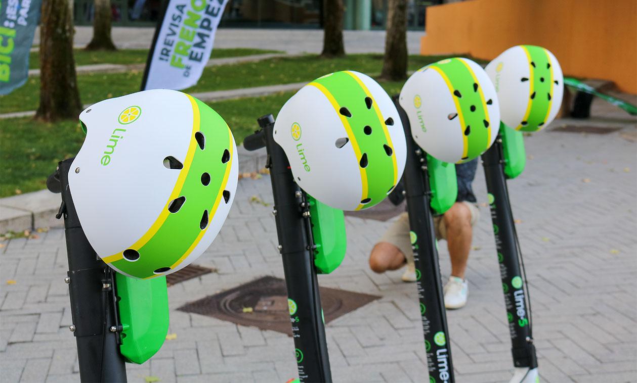 Lime comienza a prestar de nuevo el servicio de alquiler de patinetes con un estricto protocolo de medidas higiénicas