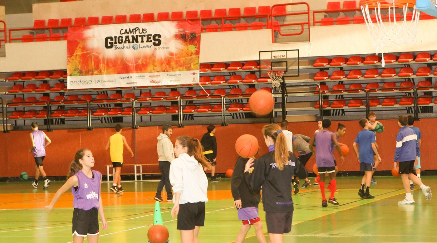 Campus deportivo de Navidad 'Gigantes'