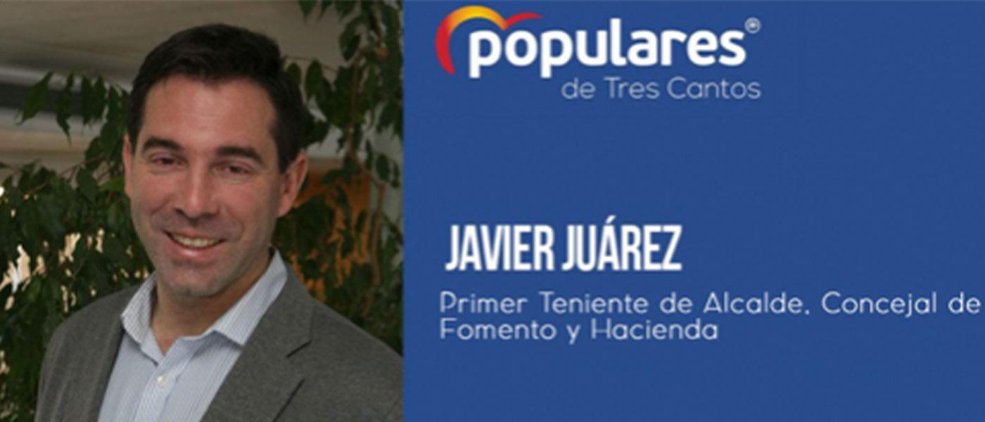 Javier Juárez  |  «Tres Cantos puede confiar en un Gobierno serio»
