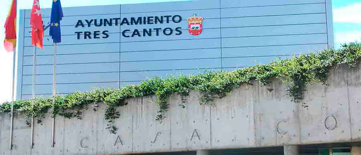 El Ayuntamiento de Tres Cantos cierra sus puertas por  seguridad
