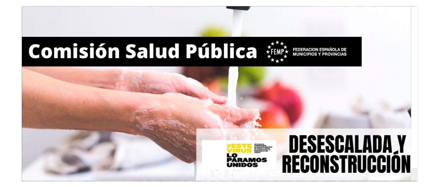Jesús Moreno preside la Comisión de Salud Pública de la Federación Española de Municipios y Provincias (FEMP)