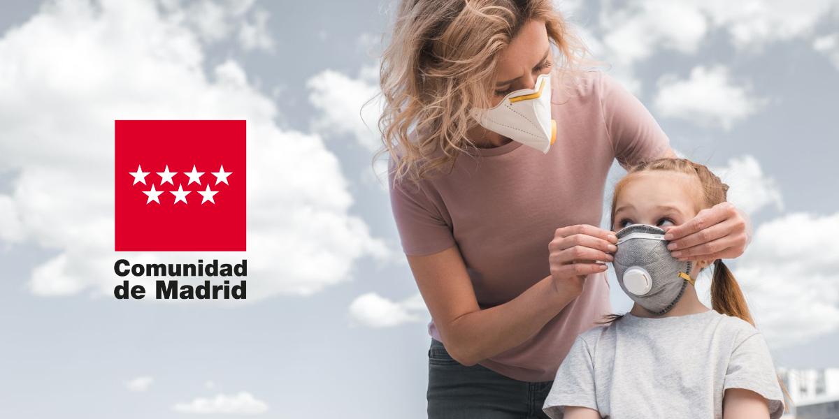 Mascarilla obligatoria en la CAM desde el jueves 30 de julio