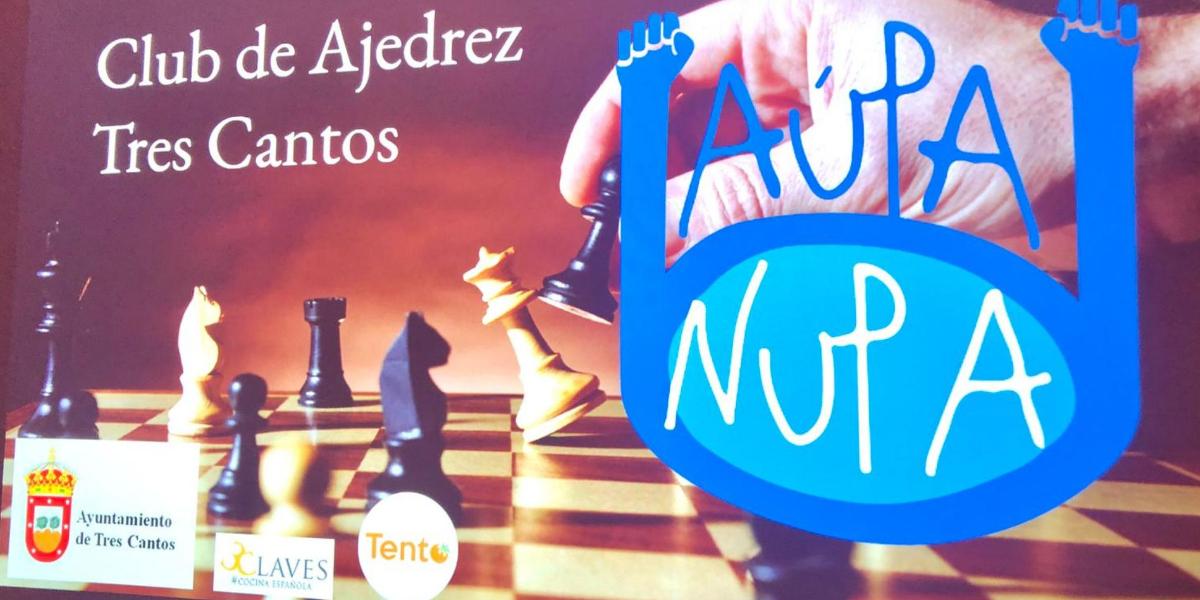 El Club de Ajedrez Tres Cantos se solidariza con la Fundación NUPA