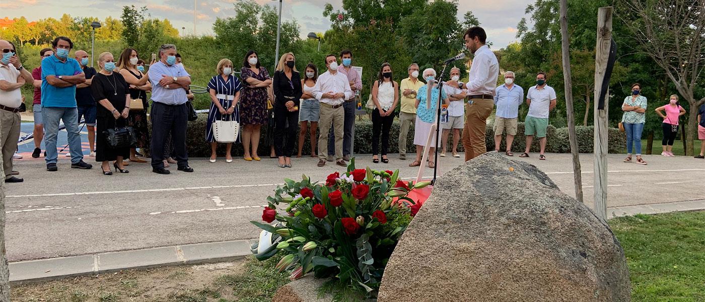 Tres Cantos rinde homenaje a las víctimas del terrorismo