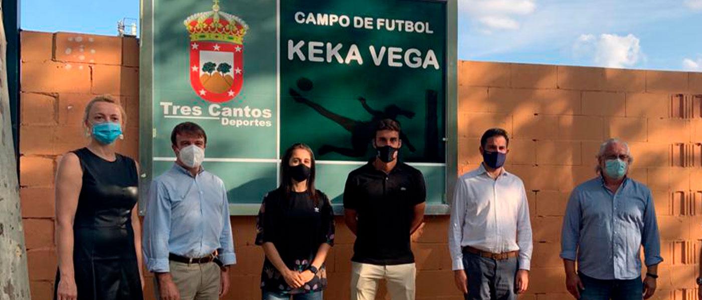 Los campos de fútbol de Tres Cantos tienen nuevo nombre