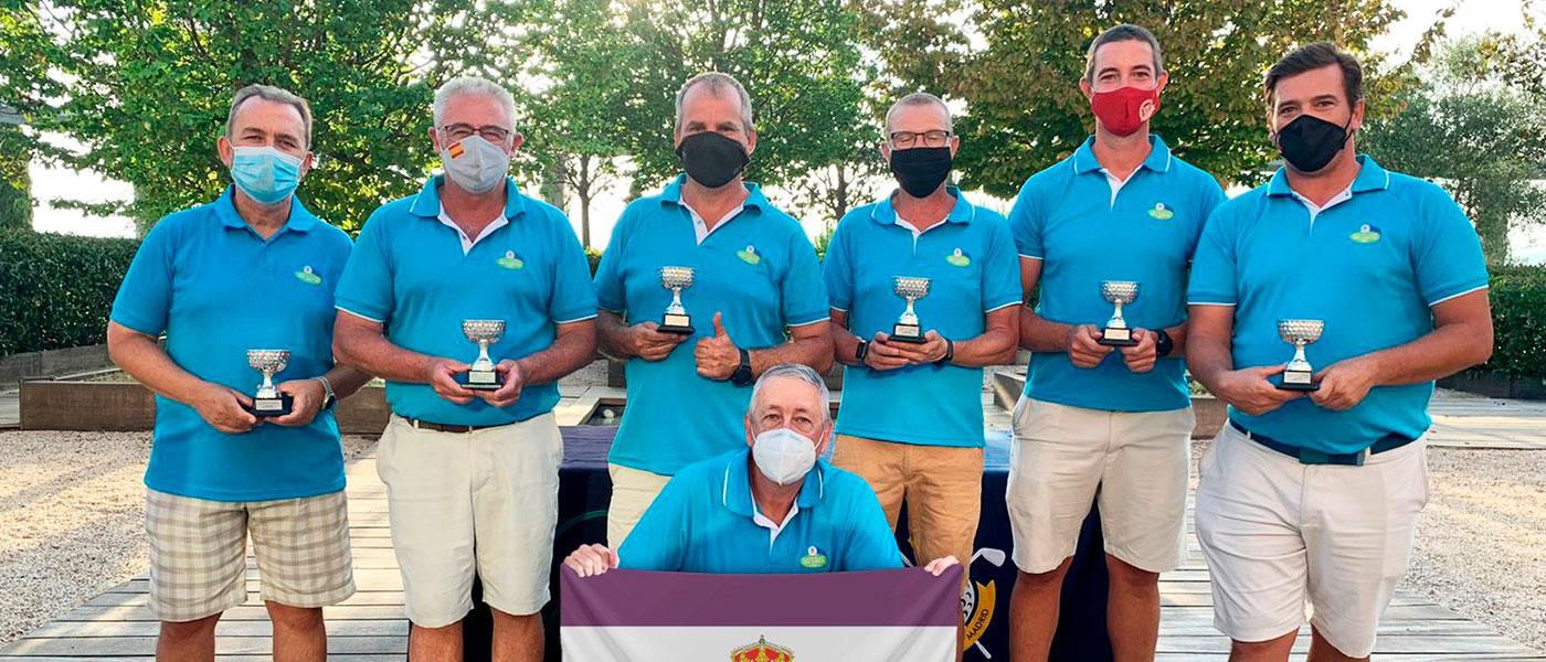 El Club de Golf Tres Cantos se proclama ganador del Campeonato de Madrid de Clubs sin Campo