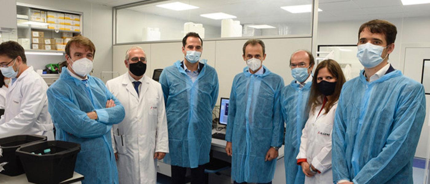 La compañía biotecnológica Algenex inaugura su nueva planta de fabricación de vacunas en Tres Cantos