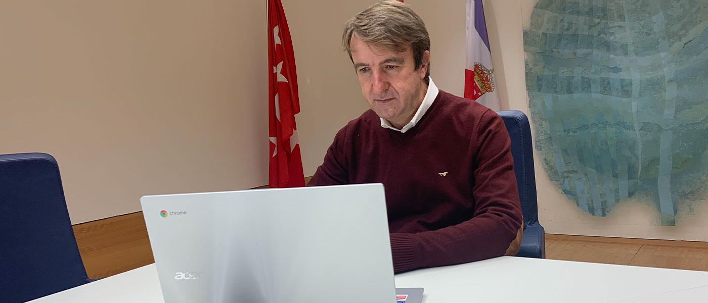 Jesús Moreno reitera sus peticiones de coordinación, información y más recursos económicos para contener la pandemia