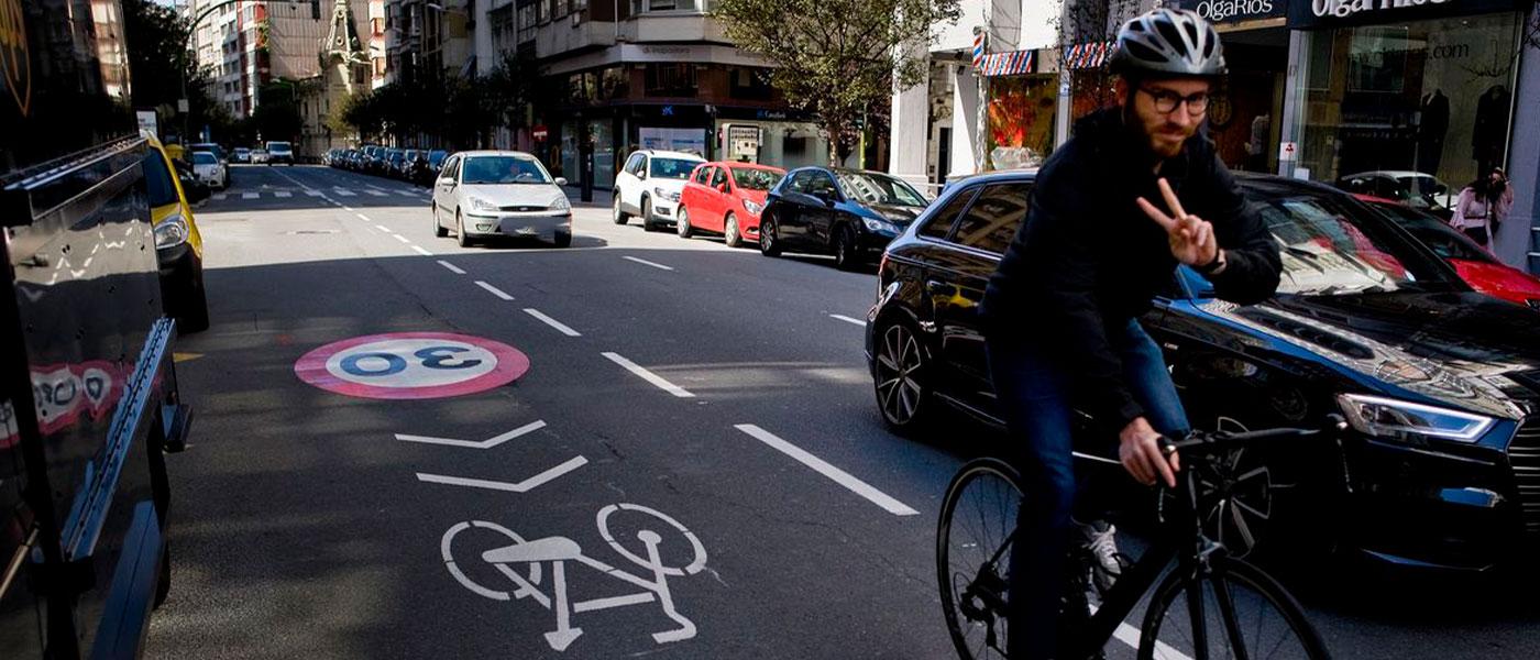 Comienzan las primeras actuaciones para la implantación del Plan Director de movilidad en bicicleta y VMP