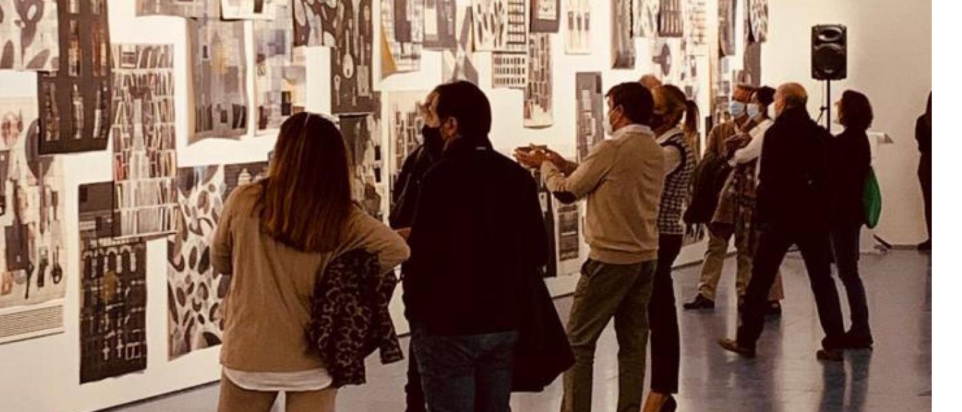 La Sala Baluarte prorroga la exposición 'El orden y el caos'
