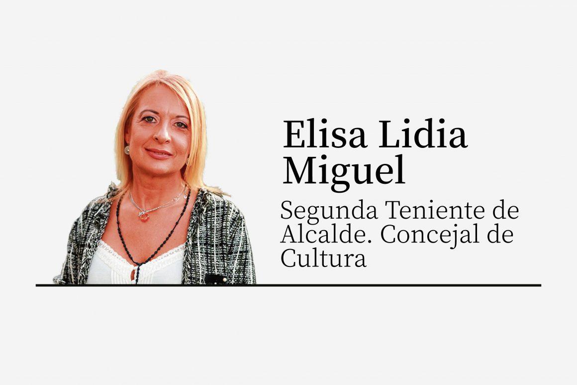 Elisa Lidia Miguel   Un verano cultural a pie de calle