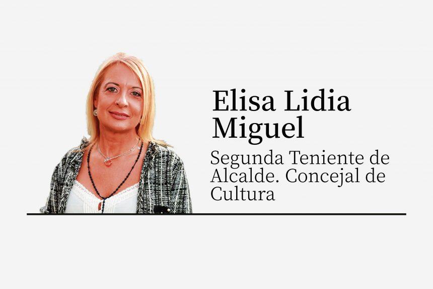 Elisa Miguel | Un otoño cultural ilusionante