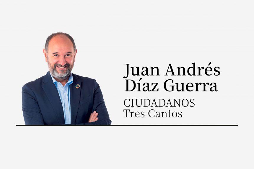 Juan Andrés Díaz | Tres Cantos solidario y comprometido