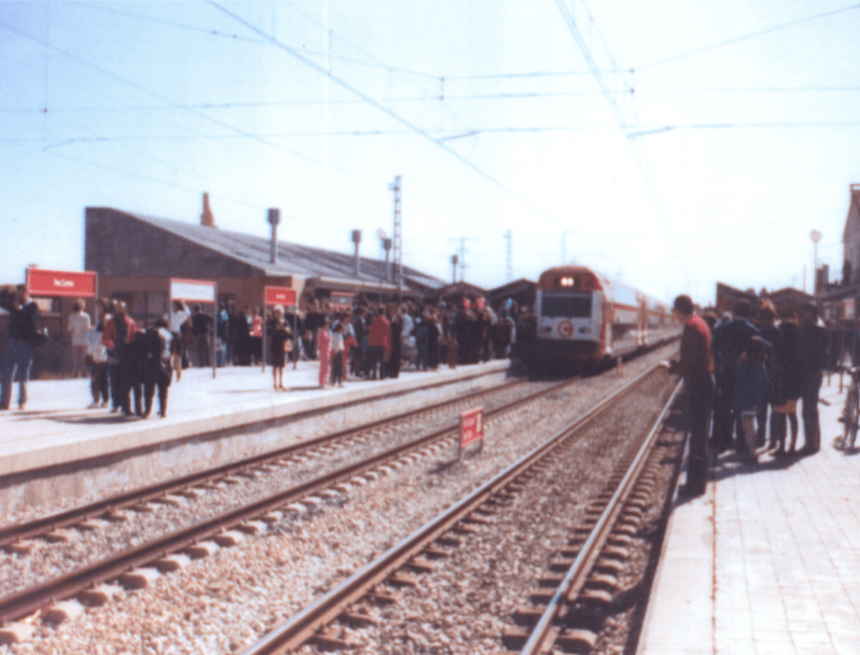 Se cumplen 30 años de la inauguración de la estación de tren de Tres Cantos
