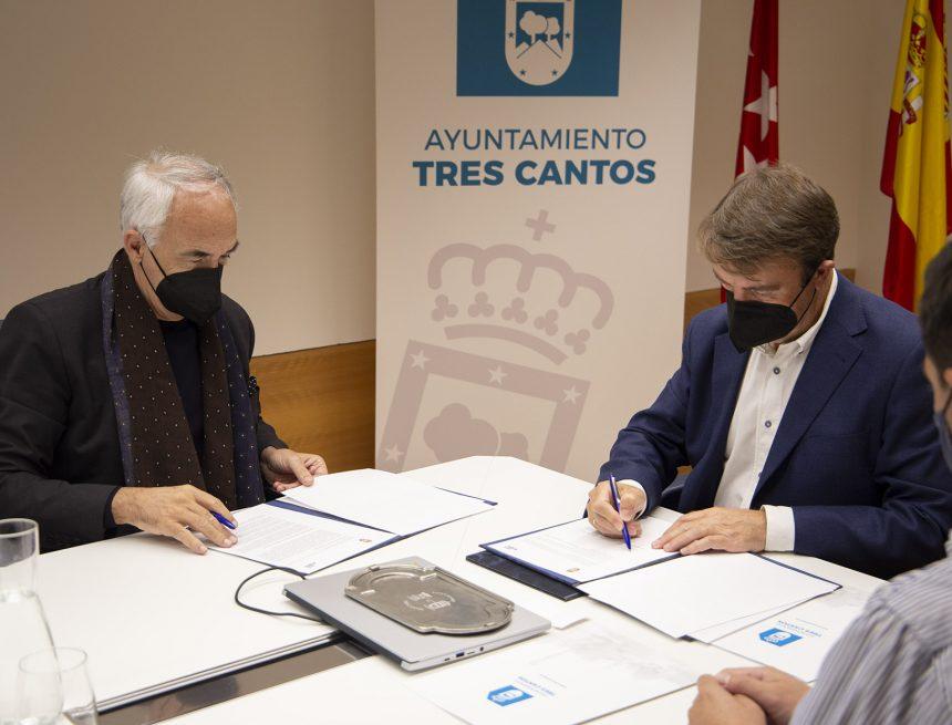 El Ayuntamiento de Tres Cantos y Fundación Metrópoli colaborarán en la planificación y diseño de un modelo de ciudad del futuro