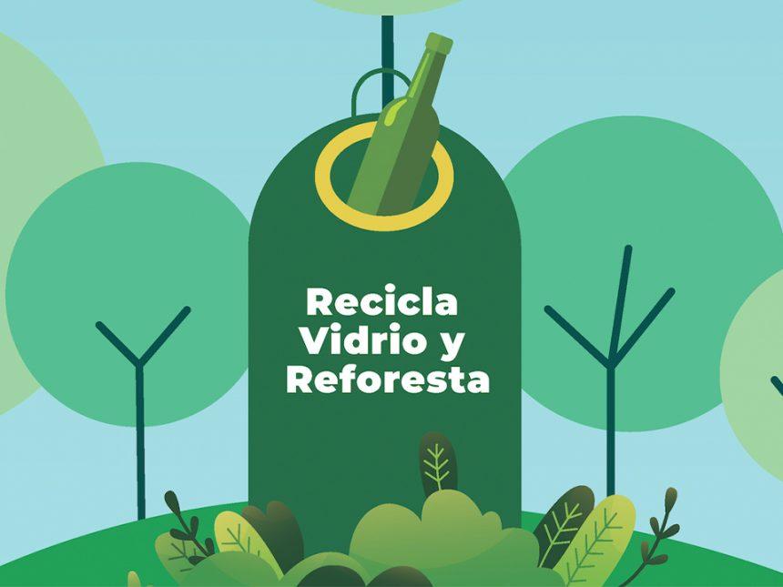 Tres Cantos participa en la campaña 'Recicla y Reforesta' para conseguir la plantación de 50 árboles